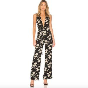 NWT Privacy Please Shea Raymond Floral Jumpsuit L